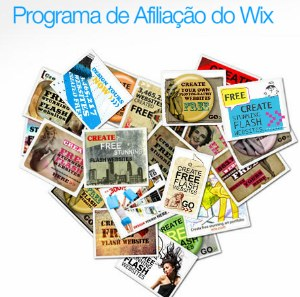 Programa de afiliados Wix