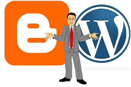 Blogger ou WordPress?